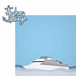 2SYT Ocean Bliss: Anchors Aweigh 2 Piece Laser Die Cut Kit