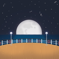 Ocean Bliss: Cruising Under The Stars 12 x 12 Paper