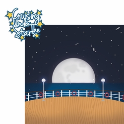 2SYT Ocean Bliss: Cruising Under The Stars 2 Piece Laser Die Cut Kit