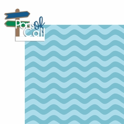 2SYT Ocean Bliss: Ports of Call 2 Piece Laser Die Cut Kit