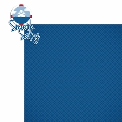 2SYT Ocean Bliss: Smooth Sailing 2 Piece Laser Die Cut Kit