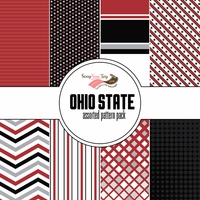 Ohio State Assorted 12 x 12 Paper Pack