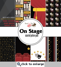 On Stage Assorted 12 x 12 Paper Pack