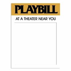 On Stage: Playbill Laser Die Cut