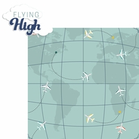 On The Go: Flying High 2 Piece Laser Die Cut Kit