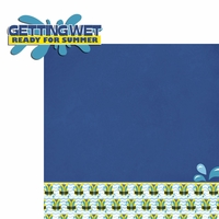 On The Water: Getting Wet 2 Piece Laser Die Cut Kit