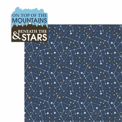 On top of the Mountains 2 Piece Laser Die Cut Kit