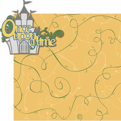 Once Upon A Time: Once Upon A Time 2 Piece Laser Die Cut Kit