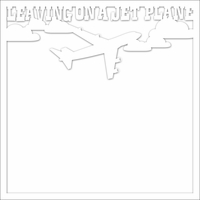 Open Road: Leaving On A Jet Plane 12 x 12 Overlay Laser Die Cut