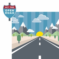 Open Road: Open Road 2 Piece Laser Die Cut Kit