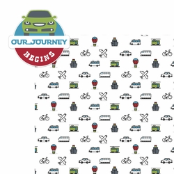 Open Road: Our Journey 2 Piece Laser Die Cut Kit