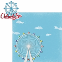 Orlando Eye: Orlando Eye 2 Piece Laser Die Cut Kit