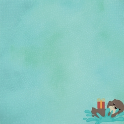 2SYT Otter: Great Birthday 12 x 12 Paper