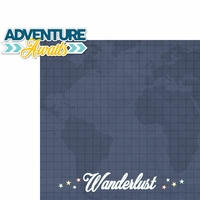 Our Journey: Adventure Awaits 2 Piece Laser Die Cut Kit