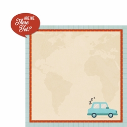 Our Journey: Are We There Yet 2 Piece Laser Die Cut Kit