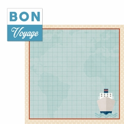 Our Journey: Bon Voyage 2 Piece Laser Die Cut Kit