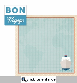 1SYT Our Journey: Bon Voyage 2 Piece Laser Die Cut Kit