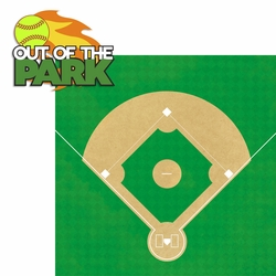 2SYT Out of the Park: Out of the Park 2 Piece Laser Die Cut Kit