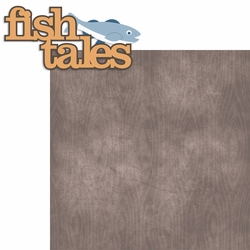 2SYT Outdoor Adventure: Fish Tales 2 Piece Laser Die Cut Kit