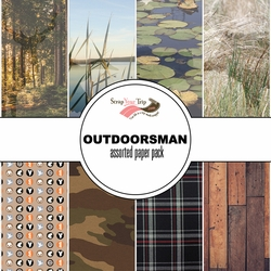 Outdoorsman Assorted 12 x 12 Paper Pack
