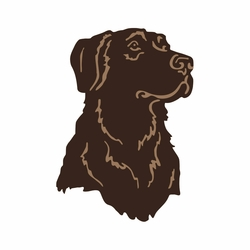 Outdoorsman: Hunting Dog Laser Die Cut