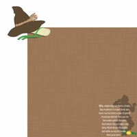 OZ: Scarecrow 2 Piece Laser Die Cut Kit