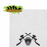 Paintball: Paintball Scramble 2 Piece Laser Die Cut Kit