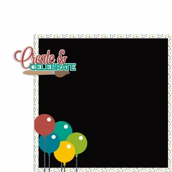 Painting Party: Create and Celebrate 2 Piece Laser Die Cut Kit