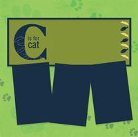Panorama: C is for Cat Frame Kit