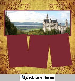 Panorama: Germany: Neuschwanstein Castle Frame Kit
