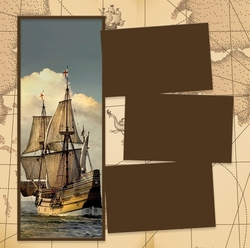Panorama: Pirate Ship Frame Kit
