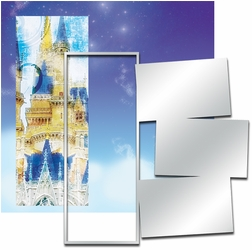 Panorama: Theme Park Castle Frame Kit