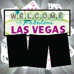 Panorama: Vegas Cards Frame Kit