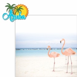 Paradise Found: Aruba 2 Piece Laser Die Cut Kit