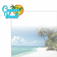Paradise Found: Cayman Islands 2 Piece Laser Die Cut Kit