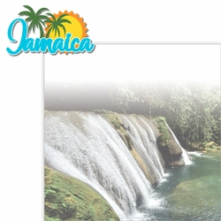 Paradise Found: Jamaica 2 Piece Laser Die Cut Kit