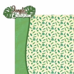 Paradise Found: Jungle Excursion 2 Piece Laser Die Cut Kit