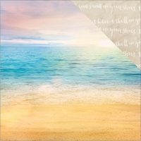 Paradise Found: Paradise Beach 12 x 12 Double Sided Cardstock