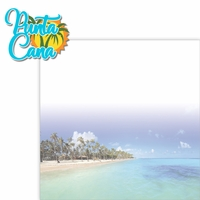 Paradise Found: Punta Cana 2 Piece Laser Die Cut Kit