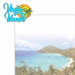 Paradise Found: Virgin Islands 2 Piece Laser Die Cut Kit