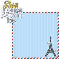 Paris: Always A Good Idea 2 Piece Laser Die Cut Kit