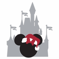 Parks: Castle Minnie Laser Die Cut