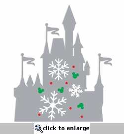 Parks: Castle Snow Laser Die Cut