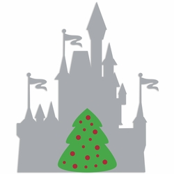 Parks: Castle Tree 2 Piece Laser Die Cut