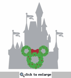 Parks: Castle Wreath Laser Die Cut