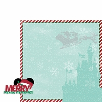 Parks: Merry mouse 2 Piece Laser Die Cut Kit