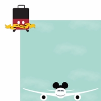 Parks: Mickey Luggage 2 Piece Laser Die Cut Kit