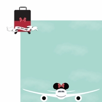 Parks: Minnie Luggage  2 Piece Laser Die Cut Kit
