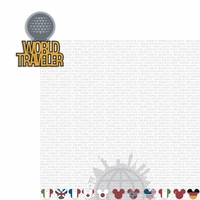 Parks: World Traveler 2 Piece Laser Die Cut Kit
