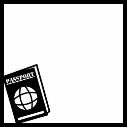 Passport 12 x 12 Overlay Laser Die Cut